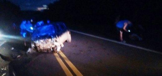 Choque frontal en Cerro Azul dejó un muerto y cuatro personas heridas de gravedad