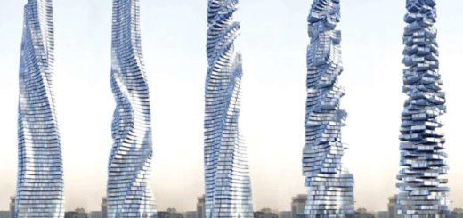 Increíble video: Mirá como será el primer rascacielos giratorio del mundo, que estará en Dubai