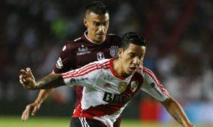"""River le ganó a Lanús en la """"Fortaleza"""" y le descontó puntos a Boca"""