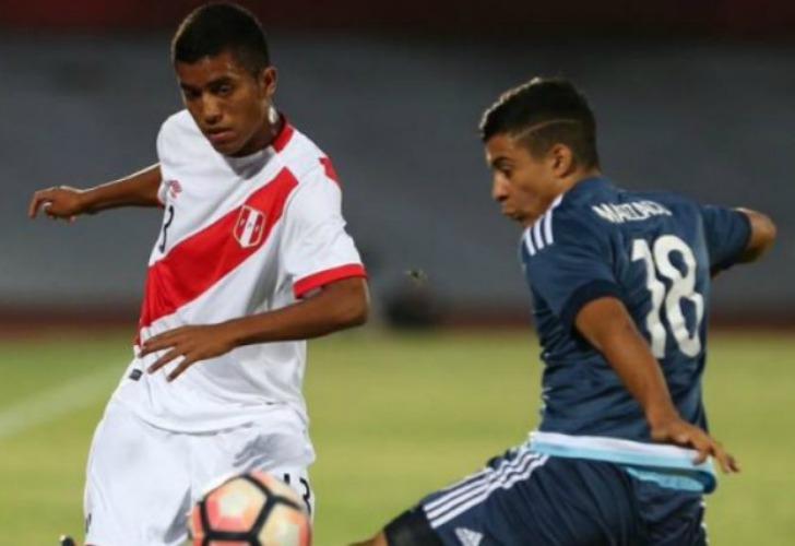 Sub 17: Argentina goleó a Perú y mantiene las chances de clasificar
