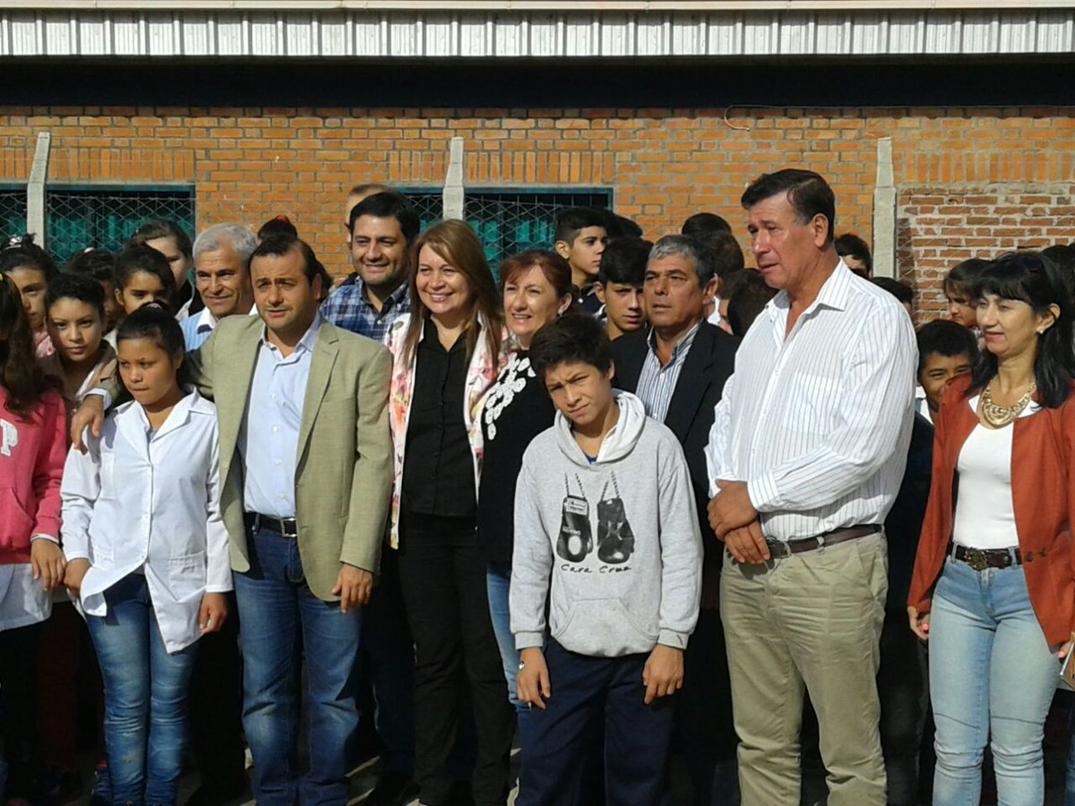"""Herrera Ahuad: """"La inauguración de escuelas se conjuga con lo que es la presencia del Estado en las localidades"""""""