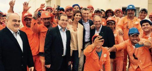 El presidente Macri recorrió viviendas del Plan Procear en un barrio de la ciudad de Corrientes