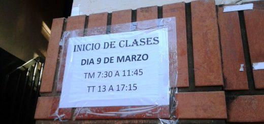 Inicio de clases: docentes de establecimientos públicos se plegaron al paro nacional por 48 horas