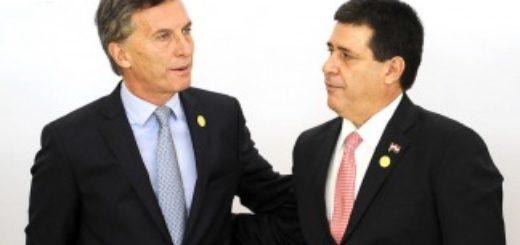 Macri viaja a Paraguay en busca de soluciones para el narcotráfico, la trata de personas y la deuda por Yacyretá