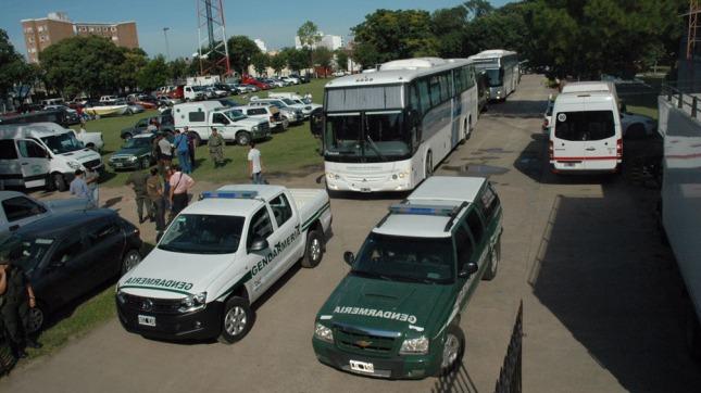 Itatí: Trasladaron a los detenidos de la «Operación Sapukay» a Buenos Aires y los indagarán el viernes