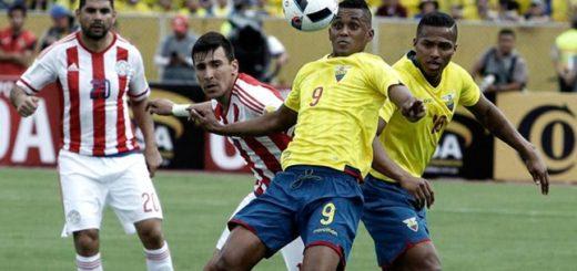 Ecuador enfrenta a Paraguay en un entretenido duelo