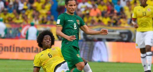 Colombia le ganó a Bolivia y relegó a la Argentina al sexto puesto