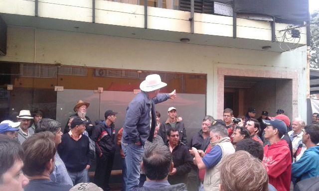 El representante de los tareferos dijo que insistirán con la fiscalización por parte de la Afip