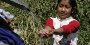 Por año mueren 3,5 millones de personas por falta de agua potable
