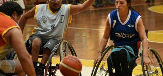 Evaluarán al equipo municipal de básquet adaptado