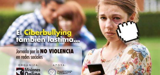 Jornada por la NO violencia en redes sociales y prevención de riesgos en el uso de las nuevas tecnologías