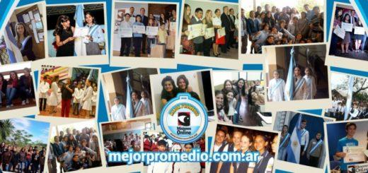 Se entregarán en abril 200 mil pesos en becas a los finalistas de Misiones y del resto del país del Concurso Mejor Promedio