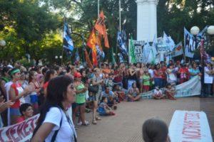 Día de la Mujer: Cientos de mujeres marcharon por su día en Posadas