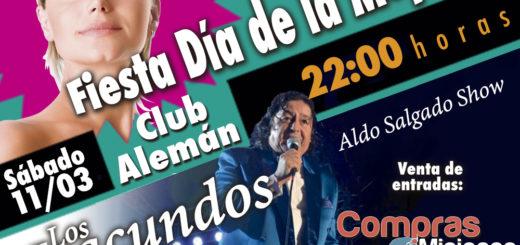 Los Iracundos se presentan el 11 de marzo en el Club Alemán de Posadasy Misiones Online sorteará entradas
