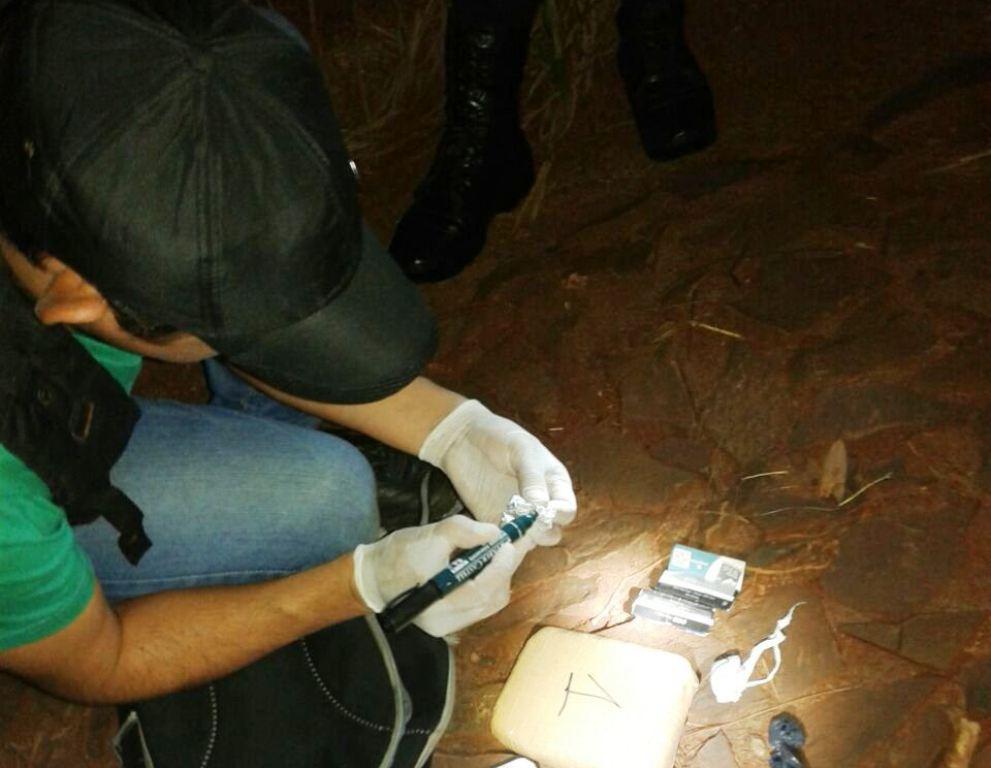 Dealer tiró su mochila con droga y escapó de la Policía en Eldorado