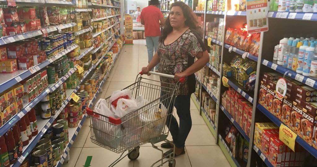 Paulina Samaniego ya tiene su canasta de productos de Mejores Precios