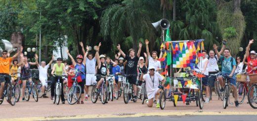 Masa Crítica cumple un lustro pedaleando en Posadas con más actividades