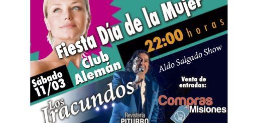 Los Iracundos se presentan el 11 de marzo en el Club Alemán de Posadas, adquirí tus entradas en Compras Misiones