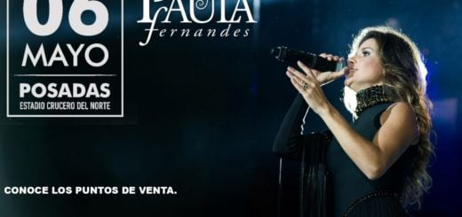 El 6 de mayo Paula Fernandes se presenta en Posadas: Mientras tanto, sorteamos tres CDs de la brasileña y los ganadores son...