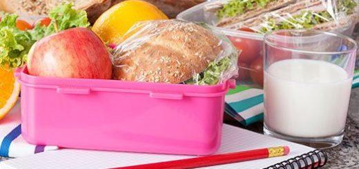 ¿Qué pueden llevar los niños a la escuela para comer sano durante los recreos?