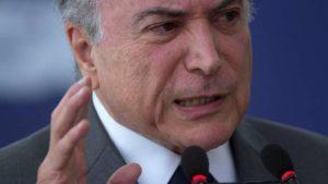 Brasil: Temer en un contraataque para reducir  el efecto de las confesiones de Odebrecht