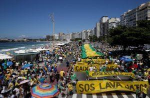 Marchas en todo Brasil contra la corrupción y la impunidad y a favor de la renovación política