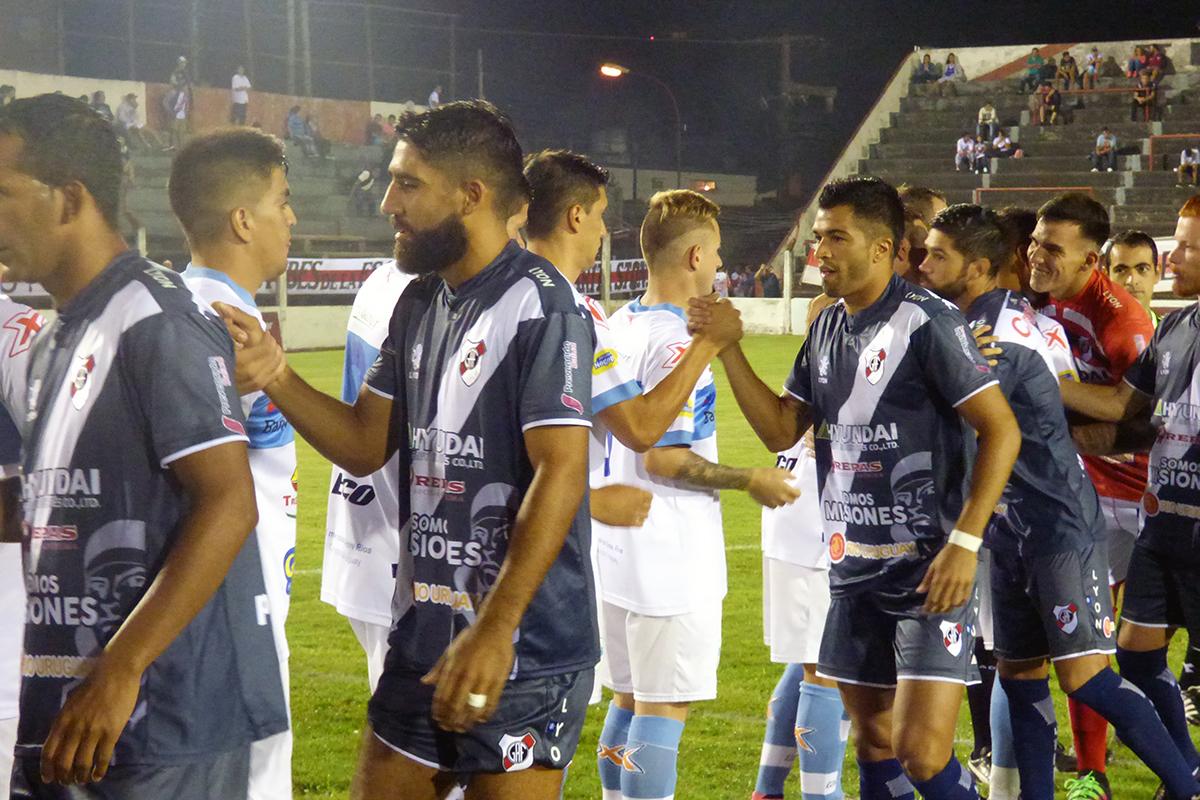 Guaraní empató con Gimnasia de Concepción del Uruguay en un show de goles