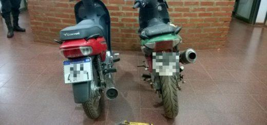 Atraparon a chico de 14 años tras raid delictivo: estaba escondido en un malezal con dos motos