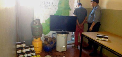 Capturaron a otro presunto vendedor de objetos robados en Iguazú