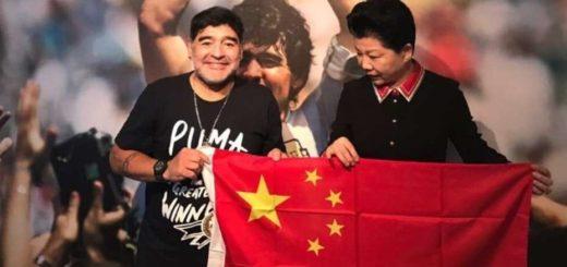 Diego Maradona será el nuevo embajador de la liga china