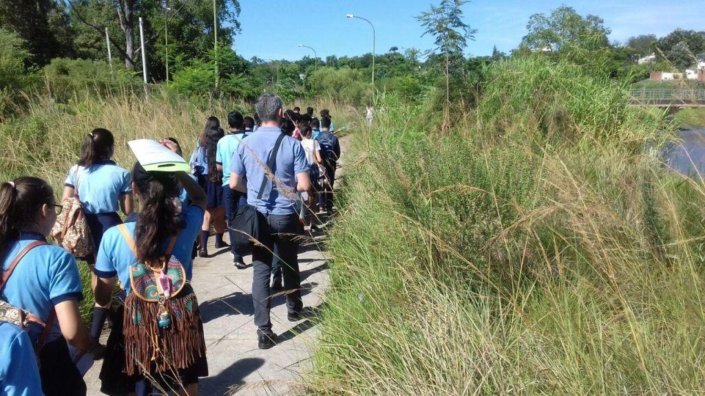 Celebraron el Día Mundial del Agua en la reserva Arroyo Itá