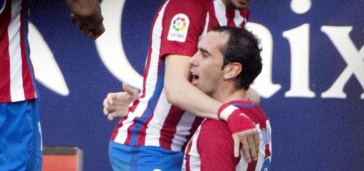 """El Atlético Madrid del """"Cholo"""" logró un contundente triunfo ante el Sevilla de Sampaoli"""