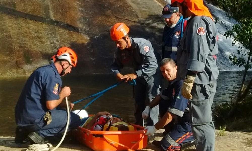 Brasil: Una argentina se resbaló y cayó de una cascada desde 40 metros de altura