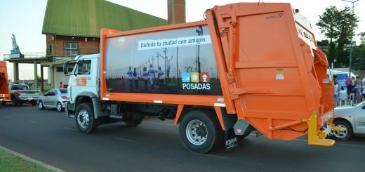 Licitaron cinco camiones y posteriormente harán lo propio con otros cinco, para mejorar la recolección de residuos en Posadas
