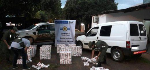 Decomisaron una carga de cigarrillos valuada en 400 mil pesos en las afueras de Virasoro