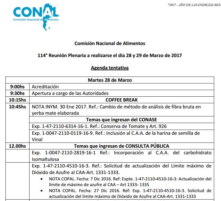 La Comisión de Alimentos tratará el martes el pedido del INYM para cambiar el método de control de palo de la yerba