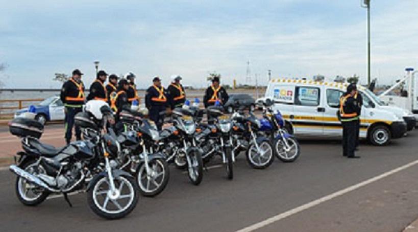 La municipalidad de Posadas instalará cámaras en los cascos de los inspectores de tránsito