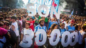 """Para el gobierno nacional el acto del 24 de marzo """"fue opositor"""""""