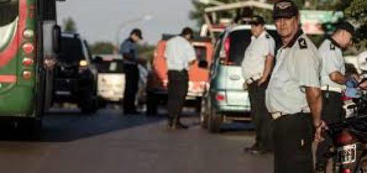 Analizan el acompañamiento permanente de la policía en los controles municipales de tránsito