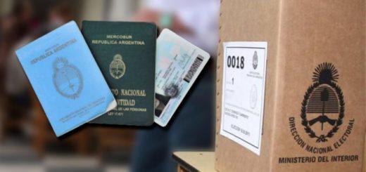 Desde abril los documentos confeccionados a mano no servirán para acreditar identidad pero sí para votar
