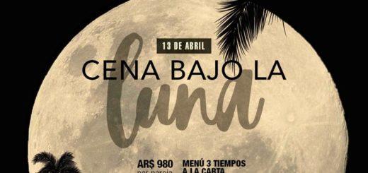 El jueves 13 de abril el Panoramic Grand invita a una Cena a la Luz de la Luna