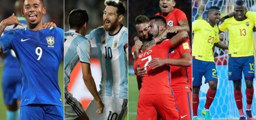 Eliminatorias Sudamericanas, fecha 13: todos los horarios y tabla de posiciones
