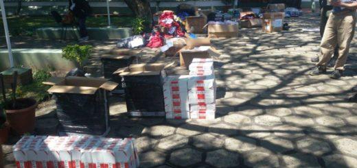 Interceptaron en Virasoro a un vecino de Garupá con una carga de contrabando