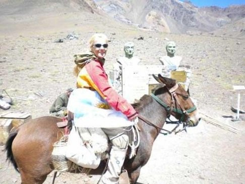 """Judit Vítores en Los Andes:""""Se necesita mucha autoconfianza, voluntad y fe para cruzar la Cordillera"""""""