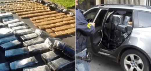 Hay dos misioneros detenidos acusados de integrar la banda que cayó con 752 kilos de marihuana en Córdoba
