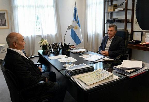 Yerba mate: Macri recibió al «Momo» Venegas y analizaron la crisis del sector