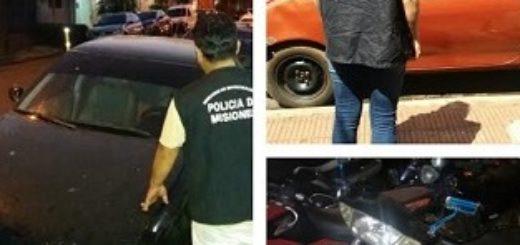 Investigaciones Complejas recuperó vehículos robados