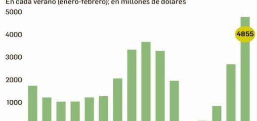 La demanda de dólares fue la mayor en 15 años durante el primer bimestre de 2017