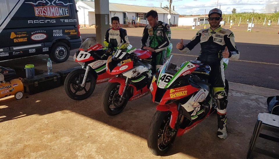 Motociclismo: El Rosamonte Racing Team inicia la temporada con equipo renovado