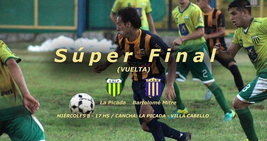 Hoy se define el Supercampeón del fútbol posadeño entre Mitre y La Picada